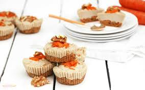 raw carrot cake cheesecakes vegan gluten free one green planet