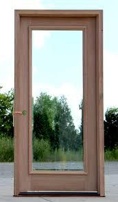 Glass Exterior Door Lite Exterior Door With Clear Bevel Glass