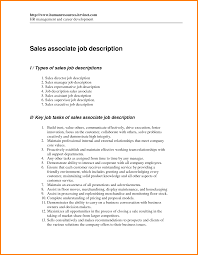 Sales Associate Job Duties Resume by Resume Responsibilities Resume For Your Job Application