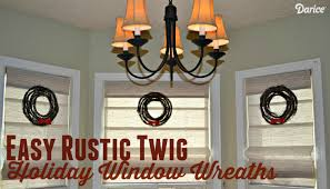 diy wreaths easy twig window wreaths darice