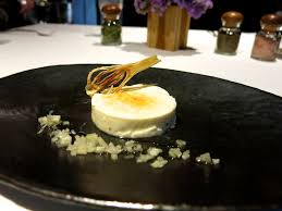 panna cotta hervé cuisine chef jean marc banzo showcases sophisticated michelin