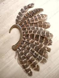 how to make feather ear cuffs feather ear cuff