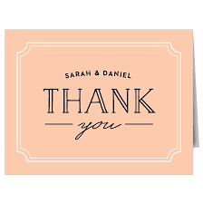 thank you cards wedding thank you cards by basic invite