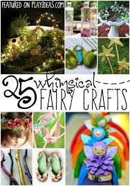 Fairy Garden Craft Ideas - best 25 fairy crafts ideas on pinterest glow crafts birthday