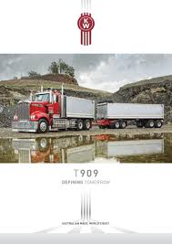 kenworth trucks bayswater kenworth t909 brochure t909 0316w by paccar australia issuu