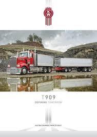 kenworth bayswater kenworth t909 brochure t909 0316w by paccar australia issuu