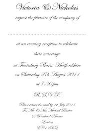 Invitation Cards Sample Format Wedding Invitation Format U2013 Gangcraft Net