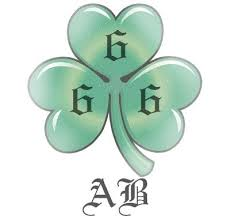 what does a shamrock tattoo with u0027666 u0027 on it stand for quora