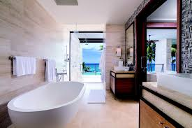 Bathroom With Two Separate Vanities by Two Bedroom Residence With Den Dorado Beach A Ritz Carlton Reserve