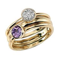 amethyst gold rings images Yellow gold ring jpg