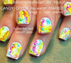 2 marble nail art design without using water easy nail art for