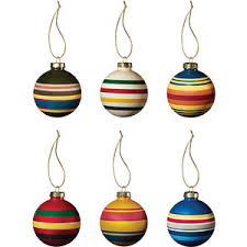 dot bo frontier ornament by pendleton set of 6 polyvore