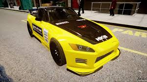 custom honda s2000 honda s2000 1998 race vinyl for gta 4