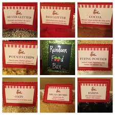 reindeer food bar labels adorable perfect for kids christmas