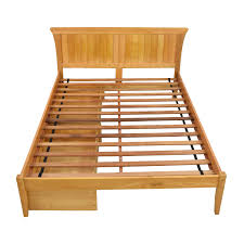 Reclaimed Wood Double Bed Frame Bed Frames Wood
