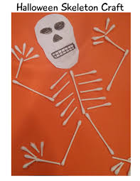 Skeleton Halloween Crafts Halloween Crafts And Skeleton Learning Extensions Imagination