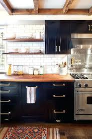 plan de travail bois cuisine plan de travail cuisine noir cuisine meuble noir plan de travail