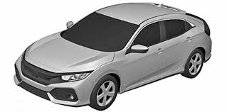 honda civic hatch revealed in patent images