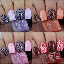 olivia jade nails hit the bottle mixed stamping polishes