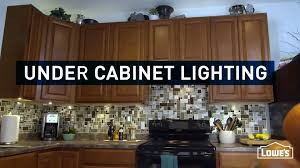 How To Install Lights Under Kitchen Cabinets How To Install Under Cabinet Lighting Youtube