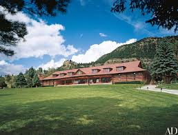 ted turner u0027s vermejo park ranch in new mexico architectural digest