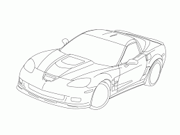 corvette coloring page gusto car coloring pages porsche corvette