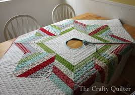 joyful jelly roll tree skirt the crafty quilter