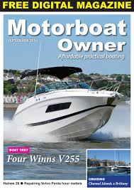 motorboat owner september 2016 by digital marine media ltd issuu