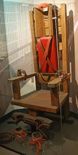 Tennessee Electric Chair Poe U0027s Deadly Daughters Museum Of Crime And Punishment