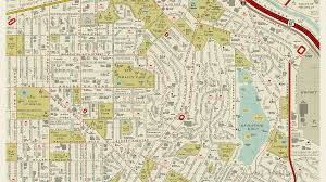 Asu Map A Retro Map Of La Is Reimagined With Film Titles Curbed La