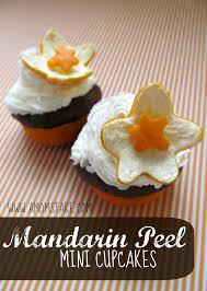 mandarin peel mini cupcakes recipe u0026 flowers a mom u0027s take