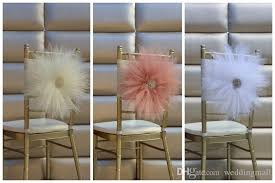 chair sashes 2017 2017 chair sash for weddings with big 3d flowers delicate