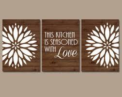 cheap kitchen wall decor ideas wall design ideas etsy canvas kitchen wall simple
