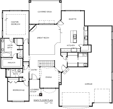 the 2053 floor plan al belt custom homes omaha nebraska