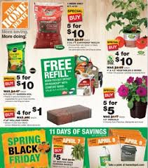 home depot black friday mower home depot weekly ad april 7 17 2016 spring black friday
