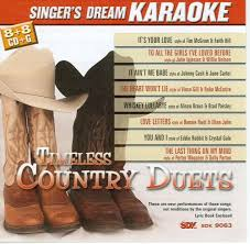 karaoke timeless country duets karaoke cdg amazon com music
