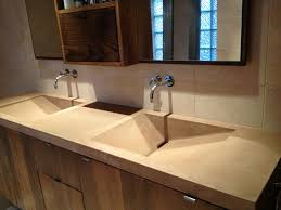 elegant brown painted trough sink of exciting replace your trough