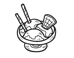 Ice Cream Cup Coloring Page Coloringcrew Com Cup Coloring Page