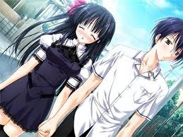 wallpaper anime lovers anime love anime lovers holding hands couple hd wallpaper hd free
