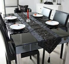 table runner or placemats wholesale 03 1 runner 4placemat wholeset black sequin table mat and