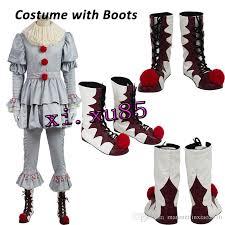 Costumes Men Halloween Stephen King U0027s Pennywise Cosplay Costume Clown Costume Men