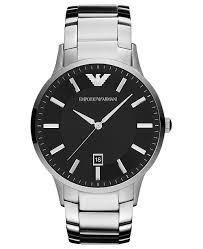 armani watches bracelet images Emporio armani watch men 39 s stainless steel bracelet 43mm ar2457 tif