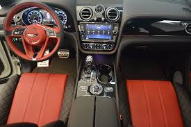 bentley inside view 2018 bentley bentayga black edition stock b1265 for sale near