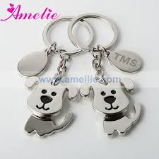 baby keychain ak009 personalized puppy baby favors keyrings custom best friend