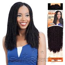 corkscrew hair modelmodel synthetic hair crochet braids glance cork braid