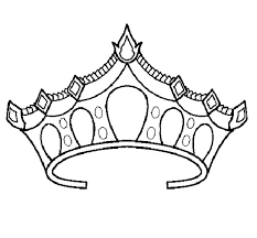 coloring pages crowns funycoloring