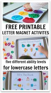 5 ways to use magnetic letters u0026 free printables magnetic