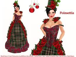 christmas costumes second marketplace christmas poinsettia