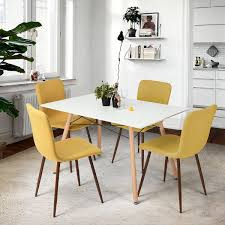 Comfortable Dining Room Sets Kitchen Chairs Set Of 4 Home And Interior