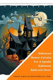 Halloween Bathroom Decor Scary Halloween Shower Curtains For Your Bathroom Decor Uniq